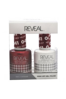 Reveal Professional - Gel & Lacquer - Red Velvet 041 - 15 mL / 0.5 oz
