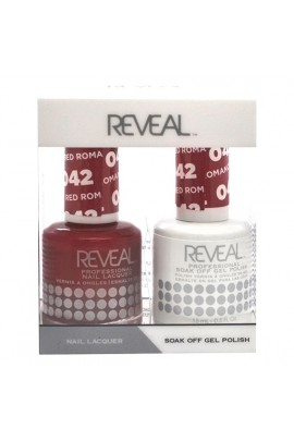 Reveal Professional - Gel & Lacquer - Red Romance 042 - 15 mL / 0.5 oz