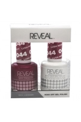 Reveal Professional - Gel & Lacquer - Lush Merlot 044 - 15 mL / 0.5 oz