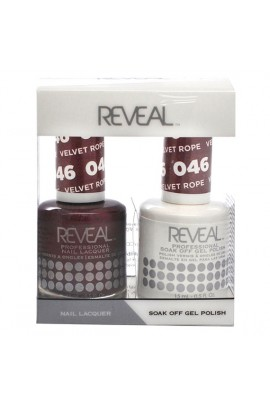 Reveal Professional - Gel & Lacquer - Velvet Rope 046 - 15 mL / 0.5 oz