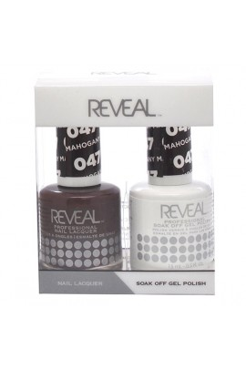 Reveal Professional - Gel & Lacquer - Mahogany Maiden 047 - 15 mL / 0.5 oz