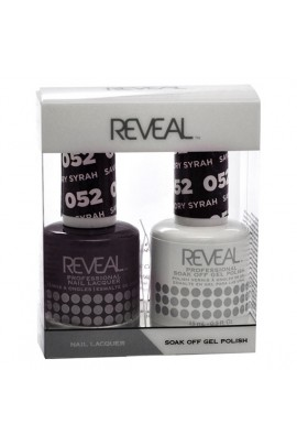 Reveal Professional - Gel & Lacquer - Savory Syrah 052 - 15 mL / 0.5 oz