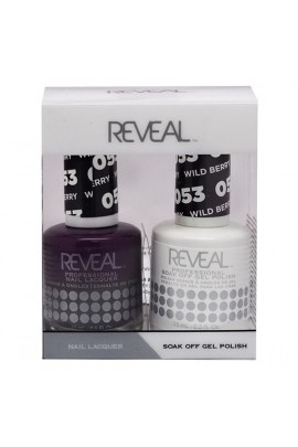 Reveal Professional - Gel & Lacquer - Wild Berry 053 - 15 mL / 0.5 oz