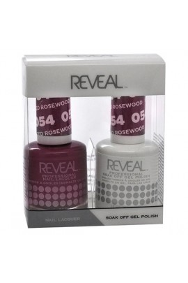 Reveal Professional - Gel & Lacquer - Spiced Rosewood 054 - 15 mL / 0.5 oz