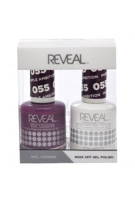 Reveal Professional - Gel & Lacquer - Purple Ambition 055 - 15 mL / 0.5 oz