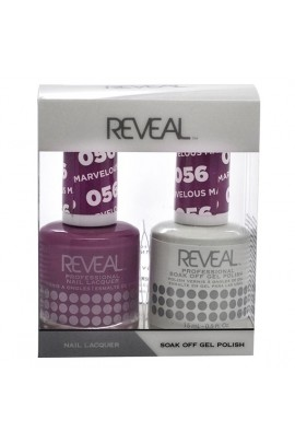 Reveal Professional - Gel & Lacquer - Marvelous Mauve 056 - 15 mL / 0.5 oz