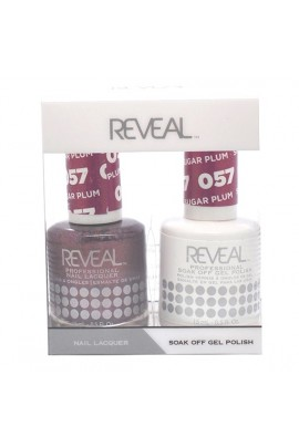 Reveal Professional - Gel & Lacquer - Sugar Plum 057 - 15 mL / 0.5 oz