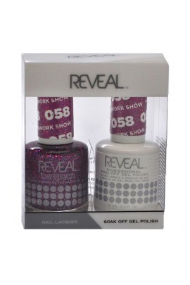 Reveal Professional - Gel & Lacquer - Firework Show 058 - 15 mL / 0.5 oz