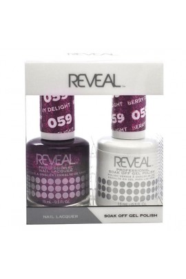 Reveal Professional - Gel & Lacquer - Berry Delight 059 - 15 mL / 0.5 oz
