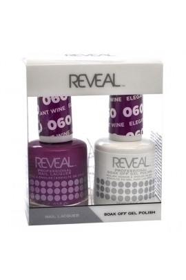 Reveal Professional - Gel & Lacquer - Elegant Wine 060 - 15 mL / 0.5 oz