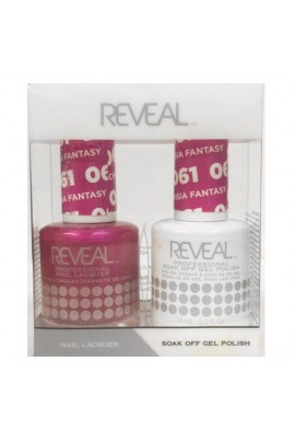 Reveal Professional - Gel & Lacquer - Fuchsia Fantasy 061 - 15 mL / 0.5 oz