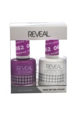Reveal Professional - Gel & Lacquer - Purple Wildflower 062 - 15 mL / 0.5 oz