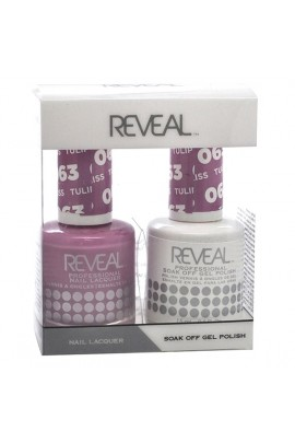 Reveal Professional - Gel & Lacquer - Tulip Bliss 063 - 15 mL / 0.5 oz