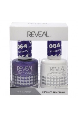 Reveal Professional - Gel & Lacquer - Plush Purple 064 - 15 mL / 0.5 oz