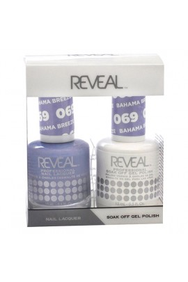 Reveal Professional - Gel & Lacquer - Bahama Breeze 069 - 15 mL / 0.5 oz