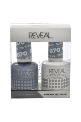 Reveal Professional - Gel & Lacquer - Dusty Blue 070 - 15 mL / 0.5 oz