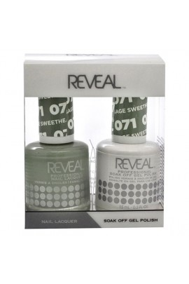 Reveal Professional - Gel & Lacquer - Sage Sweetheart 071 - 15 mL / 0.5 oz