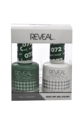 Reveal Professional - Gel & Lacquer - Sassy Sage 072 - 15 mL / 0.5 oz