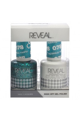 Reveal Professional - Gel & Lacquer - Mermaid Fantasy 078 - 15 mL / 0.5 oz