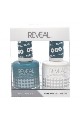 Reveal Professional - Gel & Lacquer - Royal Teal 080 - 15 mL / 0.5 oz