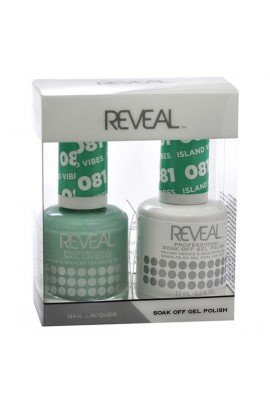 Reveal Professional - Gel & Lacquer - Island Vibes 081 - 15 mL / 0.5 oz