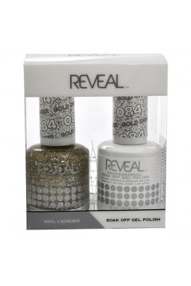 Reveal Professional - Gel & Lacquer - Gold-Digger 084 - 15 mL / 0.5 oz