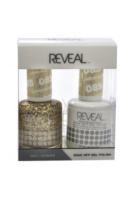 Reveal Professional - Gel & Lacquer - Glamorous Gold 085 - 15 mL / 0.5 oz