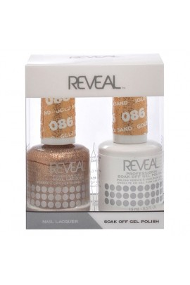 Reveal Professional - Gel & Lacquer - Gold Sand 086 - 15 mL / 0.5 oz