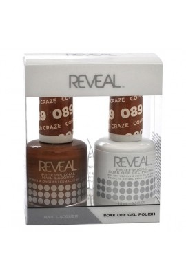 Reveal Professional - Gel & Lacquer - Copper Craze 089 - 15 mL / 0.5 oz