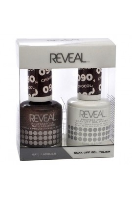 Reveal Professional - Gel & Lacquer - Chocolate Fountain 090 - 15 mL / 0.5 oz