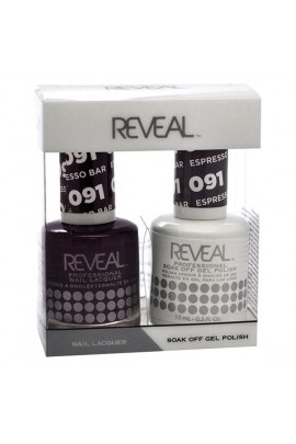 Reveal Professional - Gel & Lacquer - Espresso Bar 091 - 15 mL / 0.5 oz
