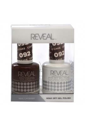 Reveal Professional - Gel & Lacquer - Coffee Cake 092 - 15 mL / 0.5 oz