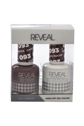 Reveal Professional - Gel & Lacquer - Cafe Mocha 093 - 15 mL / 0.5 oz