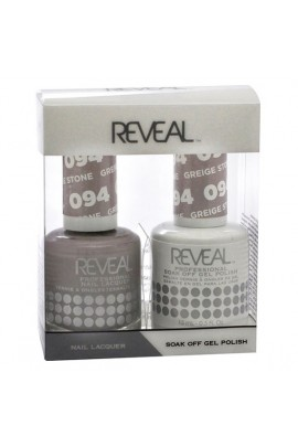 Reveal Professional - Gel & Lacquer - Greige Stone 094 - 15 mL / 0.5 oz