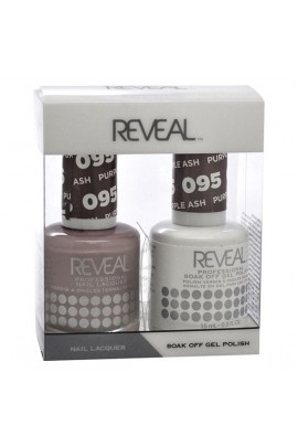 Reveal Professional - Gel & Lacquer - Purple Ash 095 - 15 mL / 0.5 oz