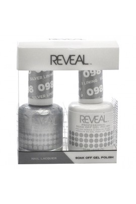 Reveal Professional - Gel & Lacquer - Silver Lining 098 - 15 mL / 0.5 oz