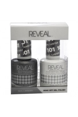 Reveal Professional - Gel & Lacquer - Charcoal Luster 101 - 15 mL / 0.5 oz