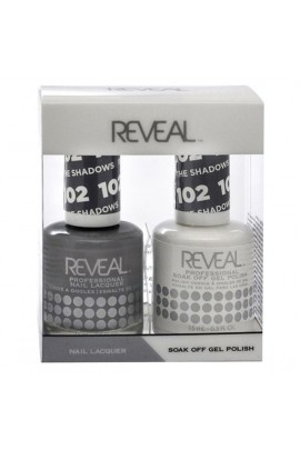 Reveal Professional - Gel & Lacquer - In The Shadows 102 - 15 mL / 0.5 oz