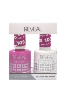 Reveal Professional - Gel & Lacquer - Radiant Purple 108 - 15 mL / 0.5 oz