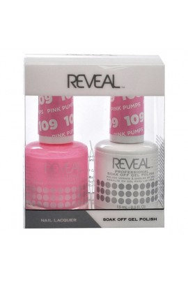 Reveal Professional - Gel & Lacquer - Pink Pumps 109 - 15 mL / 0.5 oz