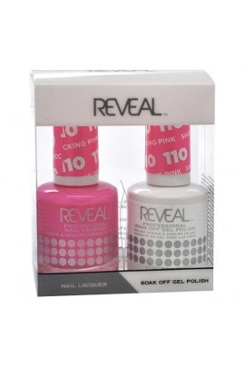 Reveal Professional - Gel & Lacquer - Shocking Pink 110 - 15 mL / 0.5 oz