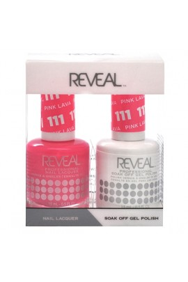 Reveal Professional - Gel & Lacquer - Pink Lava 111 - 15 mL / 0.5 oz
