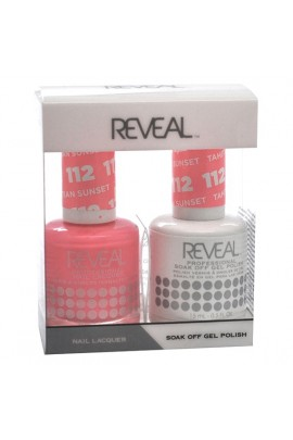 Reveal Professional - Gel & Lacquer - Tahitian Sunset 112 - 15 mL / 0.5 oz