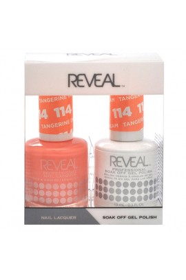 Reveal Professional - Gel & Lacquer - Tangerine Dream 114 - 15 mL / 0.5 oz