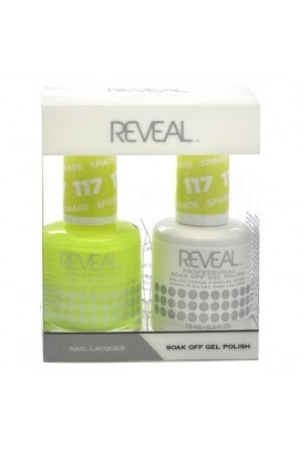 Reveal Professional - Gel & Lacquer - Spiked Lemonade 117 - 15 mL / 0.5 oz