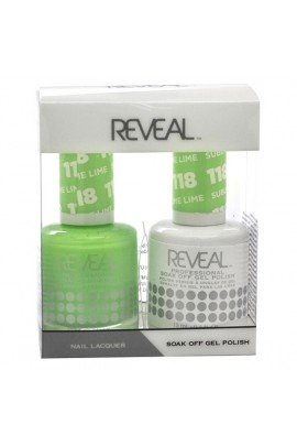 Reveal Professional - Gel & Lacquer - Sublime Lime 118 - 15 mL / 0.5 oz