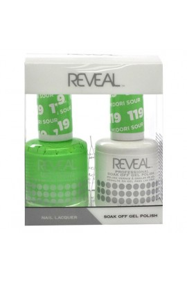 Reveal Professional - Gel & Lacquer -Midori Sour 119 - 15 mL / 0.5 oz