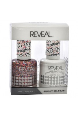 Reveal Professional - Gel & Lacquer - Rainbow Sprinkles 120 - 15 mL / 0.5 oz