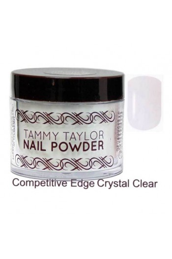 Tammy Taylor Nail Powder - Competitive Edge - Crystal Clear - 1.5oz
