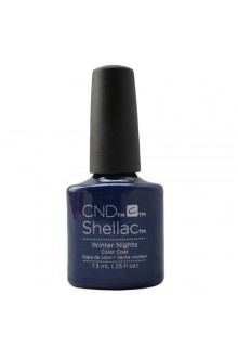 CND Shellac - Glacial Illusion Fall 2017 Collection - Winter Nights - 0.25oz / 7.3ml